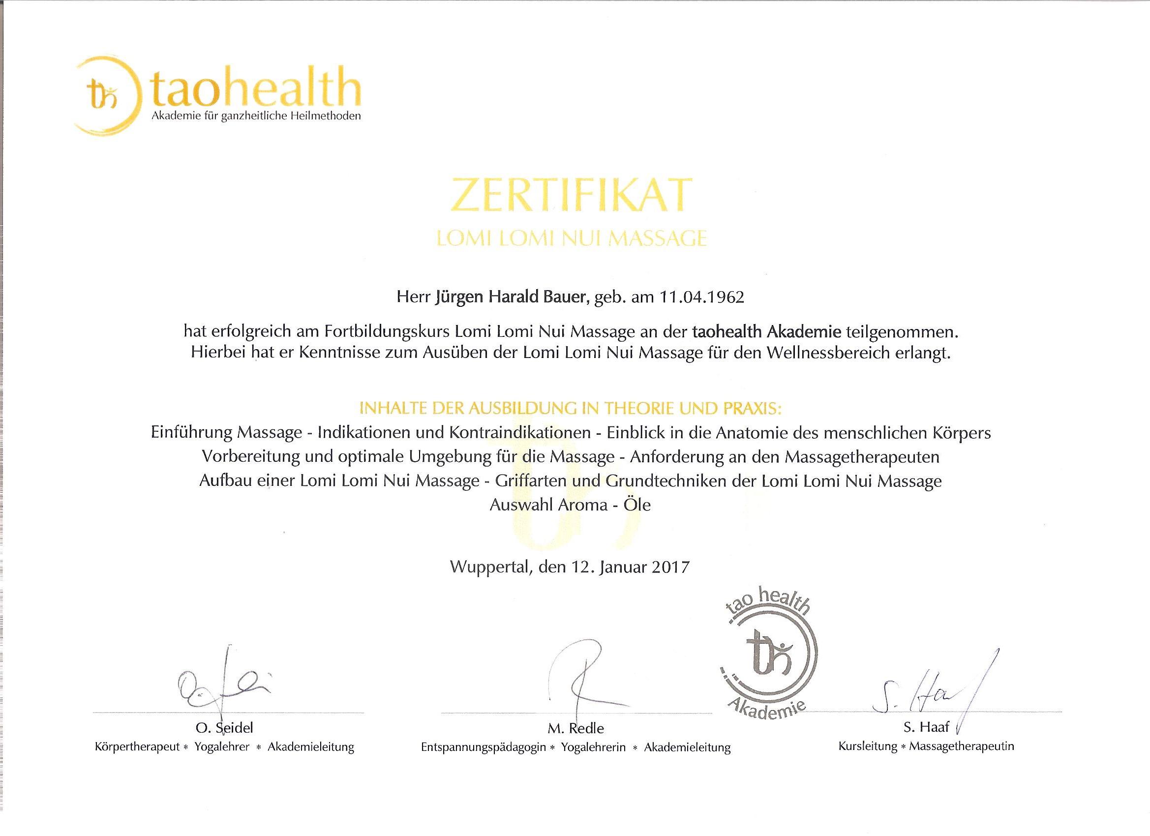 Zertifikate - Meine Website
